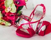 Wedding Bouquet Bride bouquet hot pink calla lily lime green orchid Tropical bridal bouquet