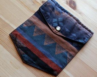 Pocket Patch - southwest fabric