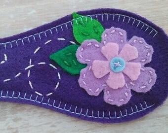 Eye Patch - Purple Flower