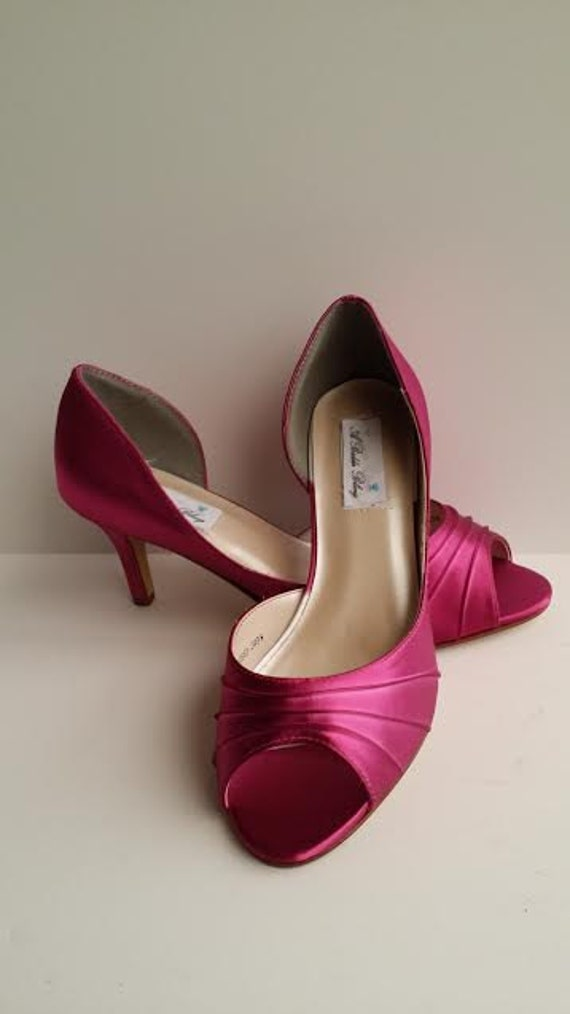 fuchsia wedding shoes fuchsia wedding shoes fuchsia bridal shoes fuchsia bridesmaid 4399