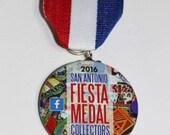 SA Fiesta Medal Collectors (FB) 2016 San Antonio Fiesta Medal