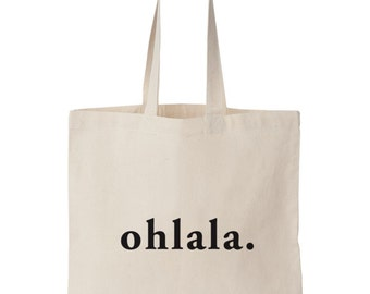 Ohlala / Screen printed totebag