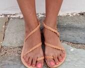 Leather sandals / women shoes / greek leather sandals / boho sandals / SANDALS
