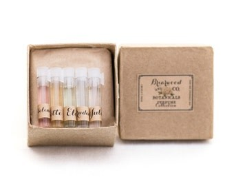 Perfume Sample Collection - 5 Vials - Gift Set
