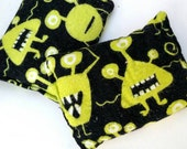 Silly Monster - Boo Boo Hot / Cold Pack - Monster, Black, Green, Boys, Alien