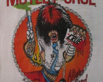 MOTLEY CRUE 1983 tour T SHIRT Childs size 6-8
