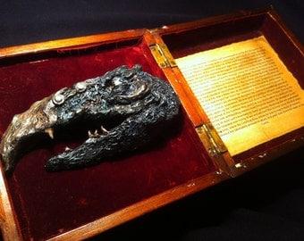 Skeksis (SkekTek)- 'The Dark Crystal'. Unique Fantasy Film Tribute Artwork