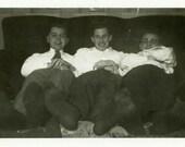 "Vintage Photo ""Worked Feet"" Snapshot Photo Old Antique Photo Black & White Photograph Found Paper Ephemera Vernacular - 152"