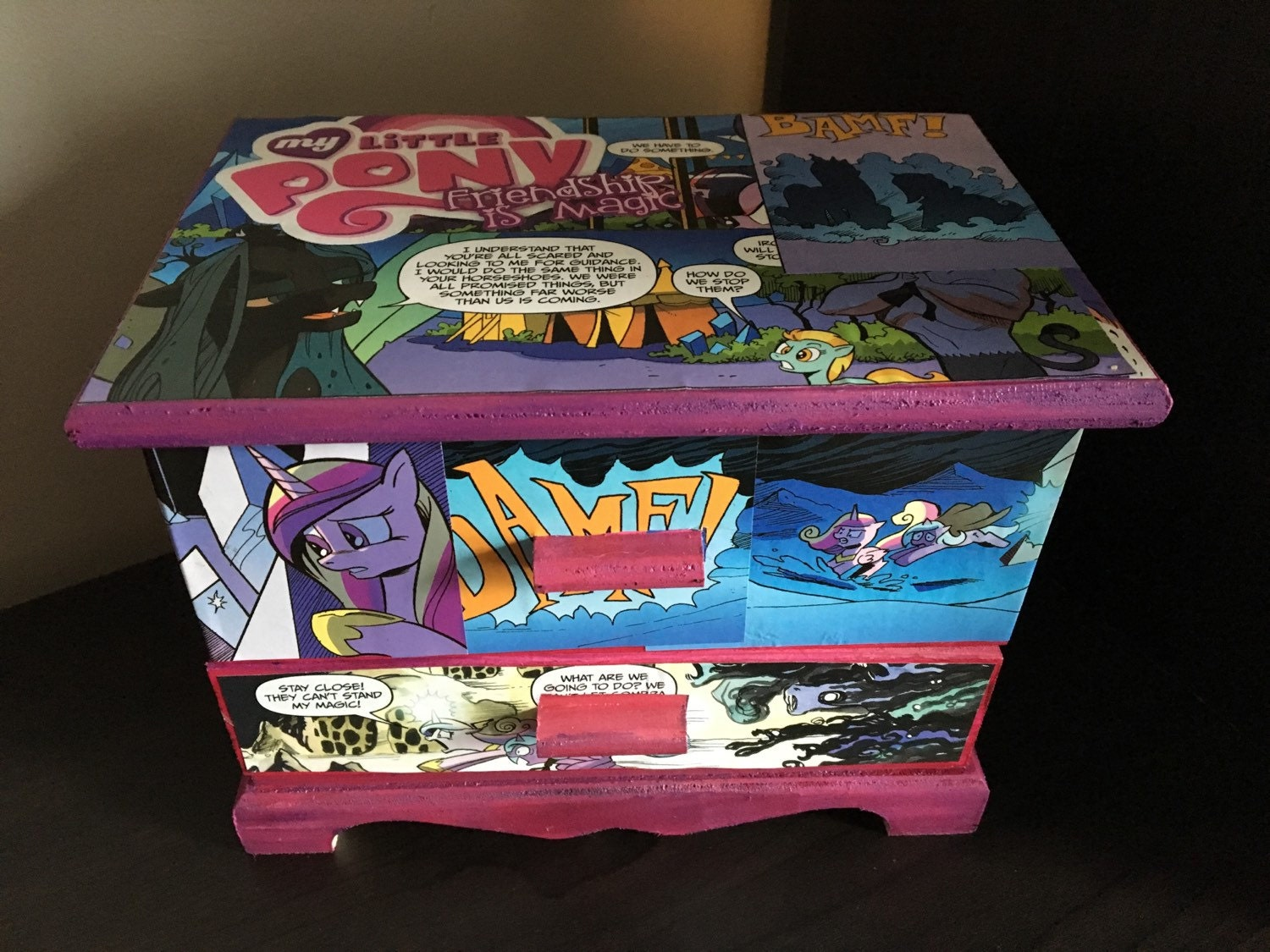 sale my little pony jewelry box friendship is magic. Black Bedroom Furniture Sets. Home Design Ideas