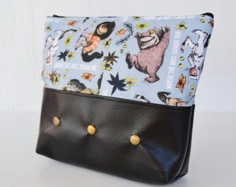Wild Things Cosmetics Bag or Pencil Case