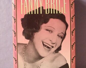 Vintage Fanny Brice biography by Herbert G. Goldman, 1992, The Original Funny Girl, 1910's 1920's 1930's history book, Barbra Streisand,