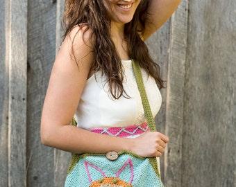 Crochet Tote Bag Pattern - Crochet Tote Pattern - Crochet Bag Pattern - Crochet Purse Pattern - Crochet Messenger Bag Pattern
