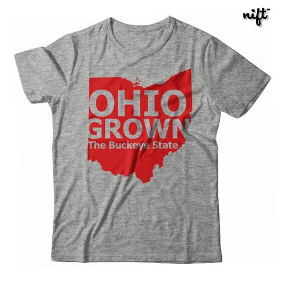 Ohio Grown The Buckeye State UNISEX T-shirt