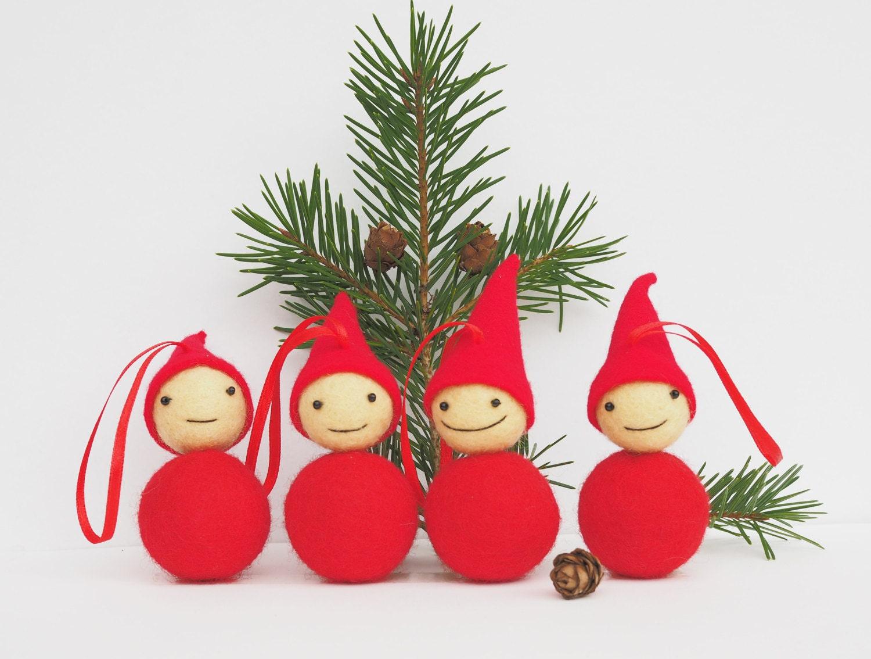 Holiday ornament christmas tree ornament by joyfulriver on etsy