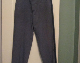 Vintage Men Uniform Pants / Brookfield Postal Uniform Slacks Large Unisex 38