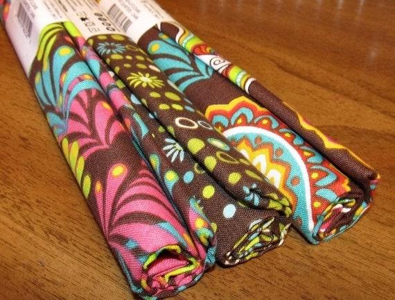 Three Rolls Fabric Palette 100% Cotton 18 X 21 Fat