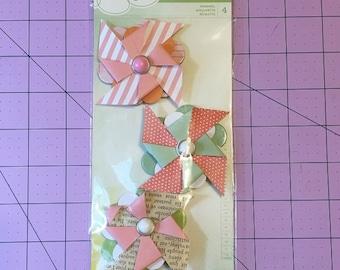 Dear Lizzy - Pinwheel Embellishments