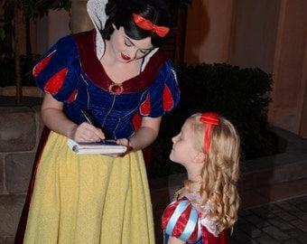 Custom Disney Autograph Book Princesses Unofficial