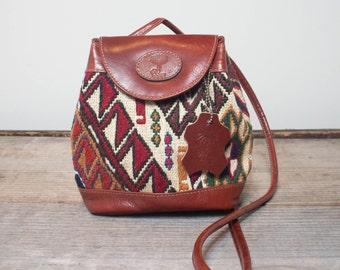 Mini Crossbody Kilim Bag Purse