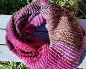 Knit Blanket Scarf #2