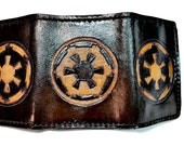 Star Wars Wallet - Trifold Wallet - Star Wars Gift - Star Wars Art - leather wallets for men - leather anniversary gift for man - boyfriend