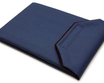 iPad Air 2 Sleeve - Navy Blue Water Resistant Canvas