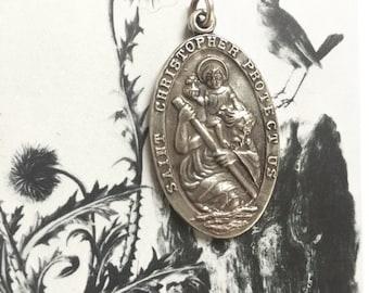 Saint Christopher Medal (1 pc)