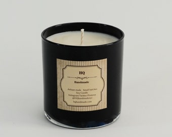 Soy Candle - Scented Natural Soy Wax Candle - Glass Tumbler - 14 oz