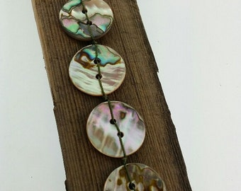 AAA grade abalone shell buttons