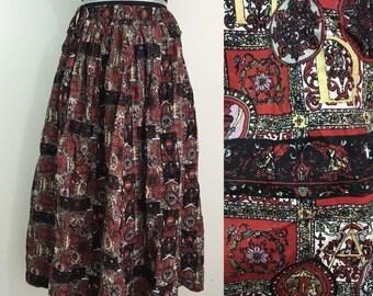 To the Letter // 1980s Alphabet Skirt