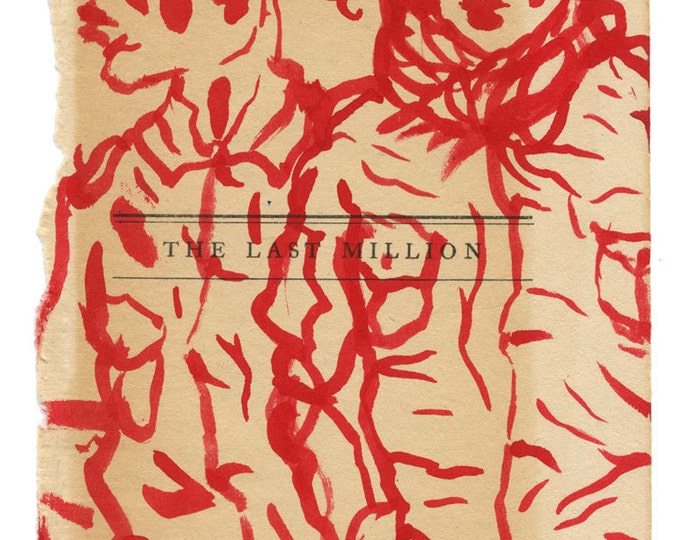 original art / original drawing / fine art / art gift / art on paper / the last million (reds)