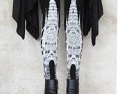 CATHEDRAL legging- womens bottoms - leggings - printed leggings