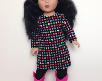 18 Inch Doll Tunic and Leggings Outfit