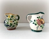 Miniature Italian Pottery Jugs Pitchers DERUTA Ceramics