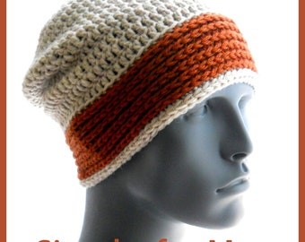 CROCHET PATTERNS: Simply, for Men, a collection of 5 hat patterns for guys
