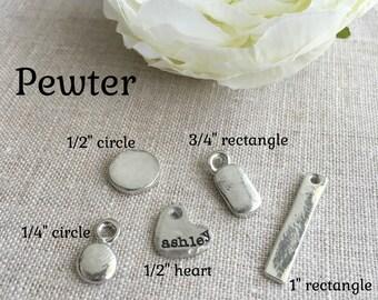 Add A Charm . Create A Custom Necklace . Custom Jewelry . Add Charm To Bracelet . Personalized Jewelry . Engraved Jewelry . Handmade Jewelry