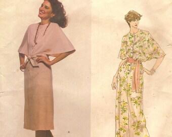 Pierre Balmain Vogue Paris Original Dress Sz 16 Vintage 1970s