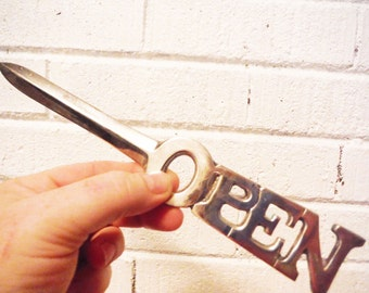 Vintage letter opener retro office decor shabby large department 56 cubicle decor office mail