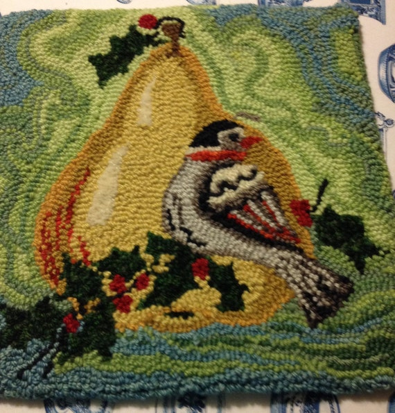 Partridge and a Pear Chair Pad