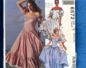 McCall's  6572 Western Swing Square Dancing Dresses Super Sexy Country Wear Size 12..14
