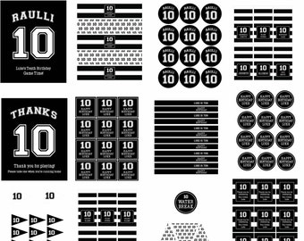 Jersey COMPLETE PARTY KIT : By Bloom Designs