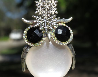 OWL BE HOME Owl Christmas HolidayTree Jewelry Christmas Ornament