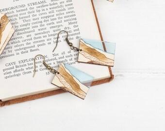 Glacial Lake Earrings