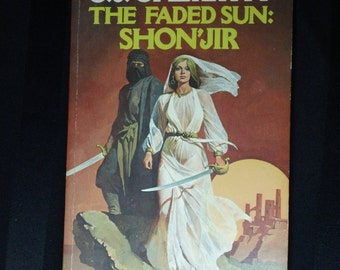 The Faded Sun: Shon'Jir by CJ Cherryh ~ Vintage 1979 Fantasy Science Fiction Paperback Book