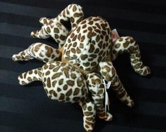 Tarantula ~ My Beans Plush Spider ~ Vintage Collectible Beanbag Stuffed Animal Toy
