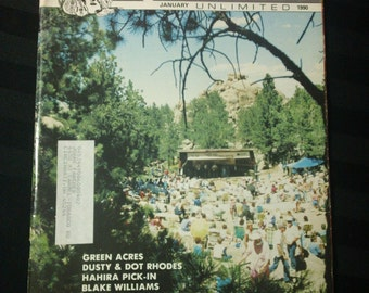 Bluegrass Unlimited Vol. 24, No. 7 (January 1990) - Happy Jack Mountain Music Festival cover ~ vintage 90s Music Magazine back issue