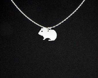 Guinea Pig Necklace - Guinea Pig Jewelry - Guinea Pig Gift