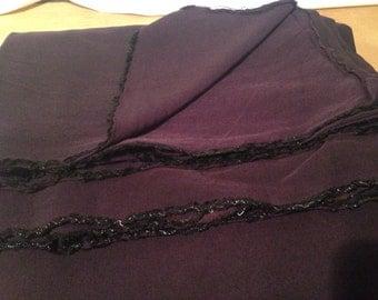 Dark Purple Polyester Cotton Fabric F59