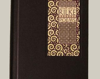 Rainer Maria Rilke, Poems,  limited edition handmade book