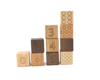 14 math and counting numbers blocks organic building blocks. Black Bedroom Furniture Sets. Home Design Ideas